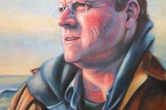 "Michael, oil on canvas, 30 x 24"""