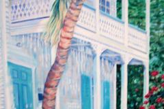 "United Street, Key West, oil on canvas, 30 x 24"""